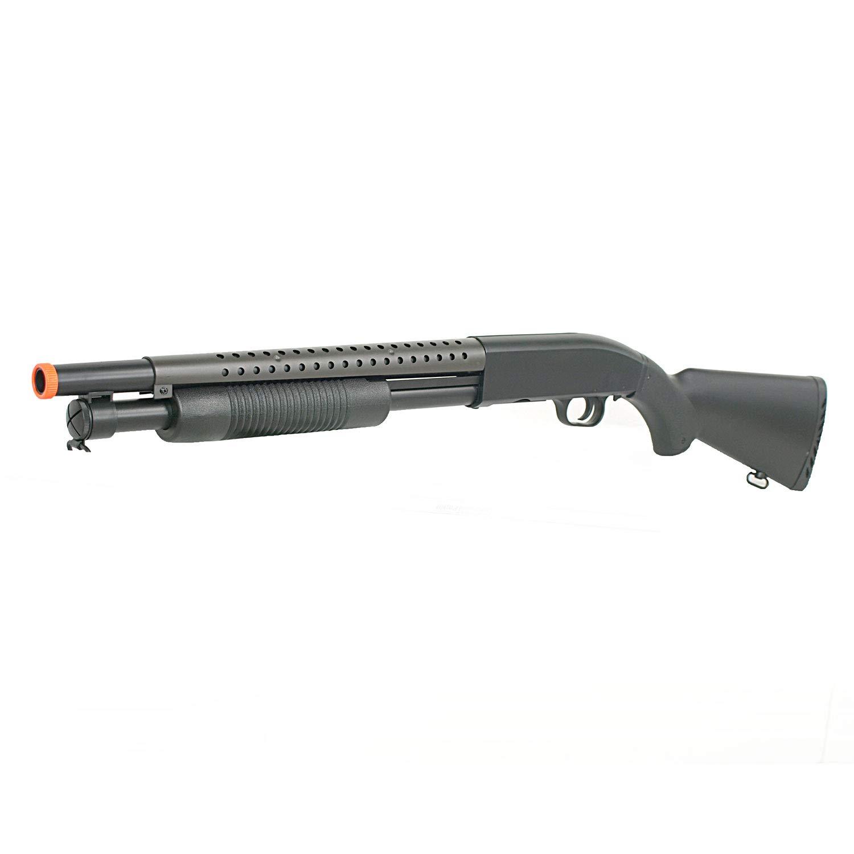 BBTac Airsoft Shotgun BT-M58A Pump Action Airsoft Gun High Performance 350 FPS by BBTac