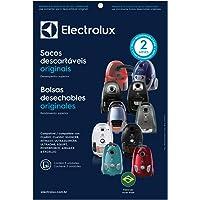 Kit com 3 Sacos Descartáveis para Aspiradores de Pó, Electrolux, Branco