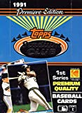 1991 Topps Stadium Club 1 Baseball Card Unopened Hobby Box