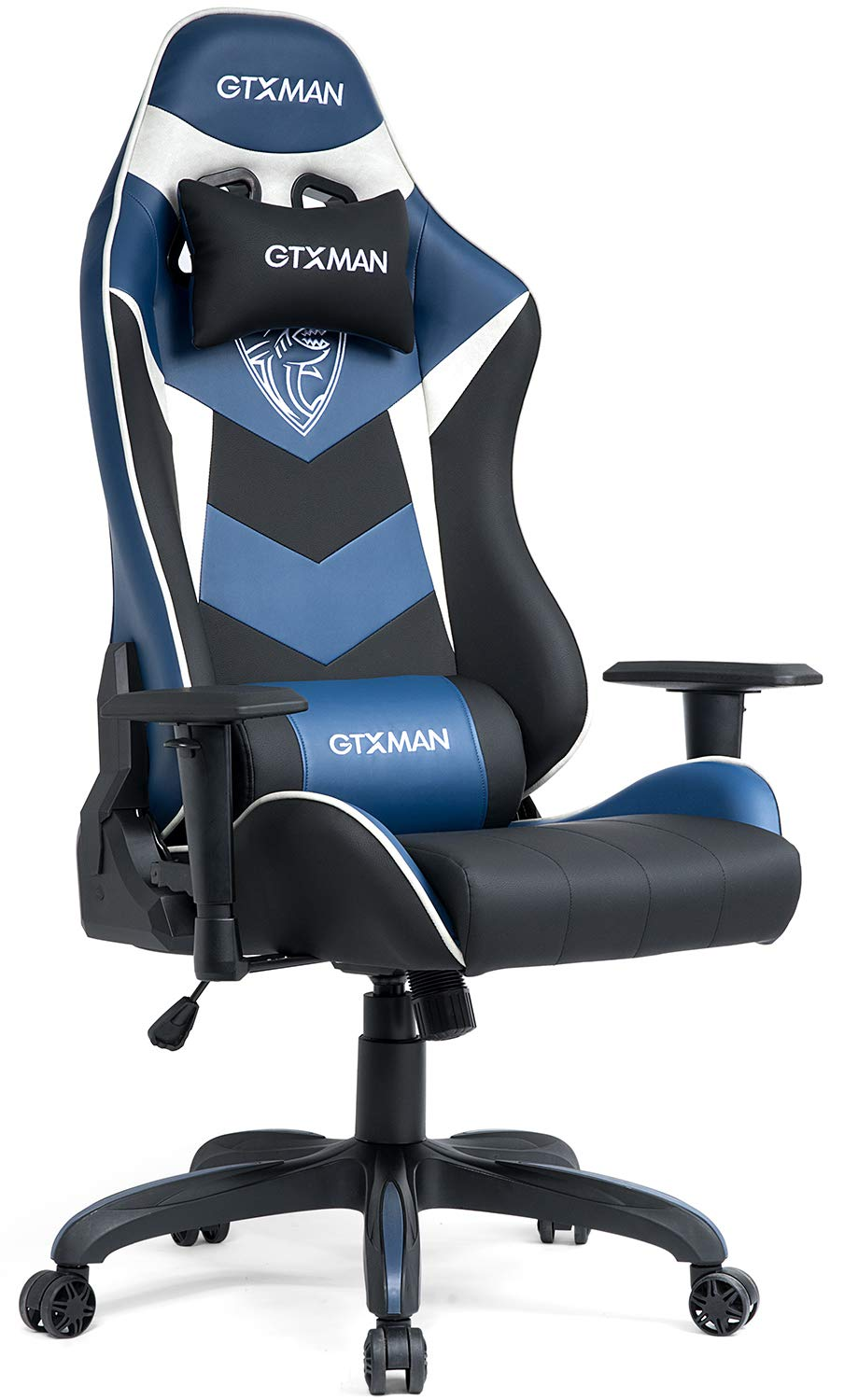 GTXMAN Gaming Chair Racing Style Video Game Chair Premium PU Leather Ergonomic Heavy Duty Office Racing Chair E-Sports X-006
