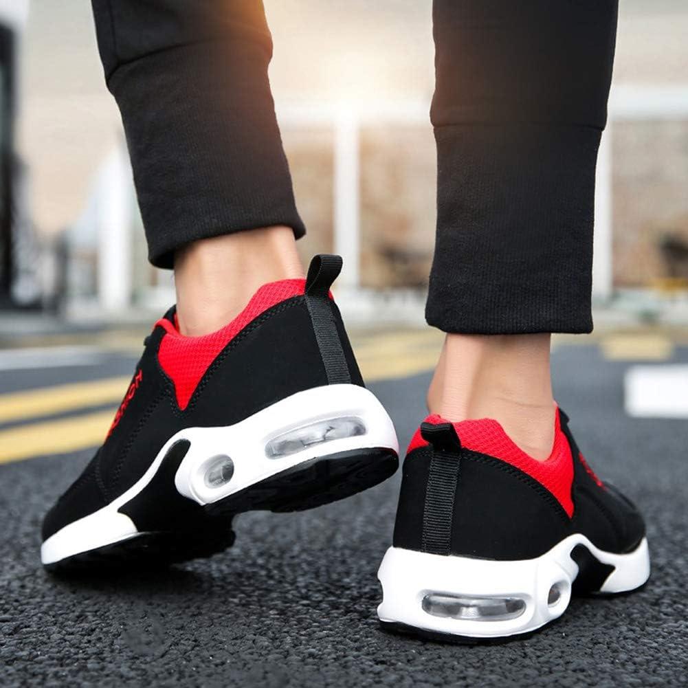 Bao xiang Paar Air Cushion Turnschuhe beil/äufige Mesh-Trainer Breathable Turnschuhe Leichte Sportlaufschuhe