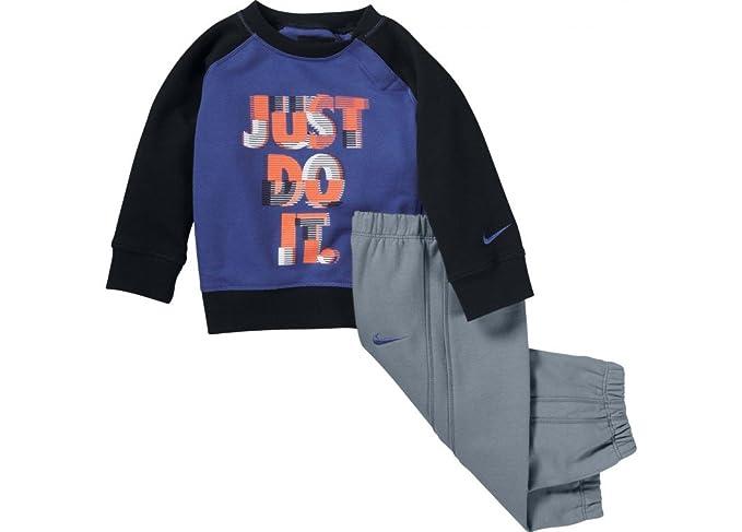 NIKE - Chandal Bebe Nike, Color: Azul/Negro, 12-18 Meses: Amazon ...