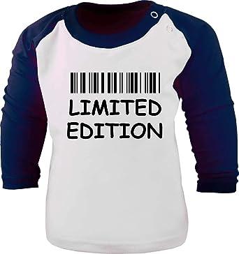 Niños Béisbol Camiseta de Manga Larga Limited Edition/Tamaño 92 – 162: Amazon.es: Ropa y accesorios