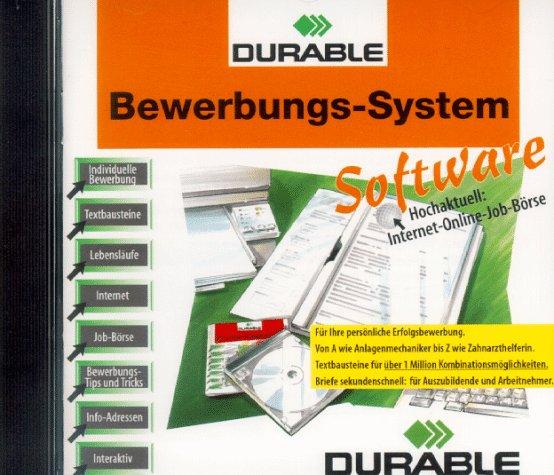 Das durable Bewerbungs- System. CD- ROM für Windows 3.1/3.11/95. Hochaktuell: Internet- Online- Job- Börse