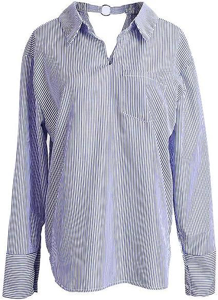 Yisaesa Camisa de Solapa señoras Lotes de Camiseta de Manga ...
