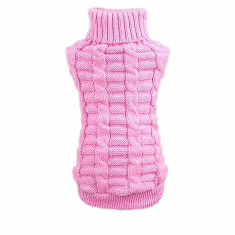 Malloom® Ropa para perros mascotas invierno de lana suéter de los géneros de punto Warm