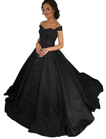 Dressesonline Womens Off Shoulder A Line Lace Appliques Prom Dresses Long Evening Dress US2