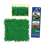 "Beistle Tissue Grass Mats Football Party 30""x15"" Table Decoration, Green, 2 Pack"
