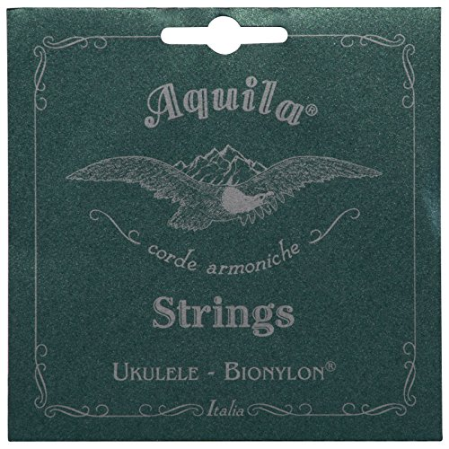 Aquila Bionylon AQ-59 Concert Ukulele Strings - High G - 1 Set of 4