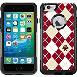 Boston College - Argyle design on Black OtterBox Commuter Series Case for iPhone 6 Plus and iPhone 6s Plus