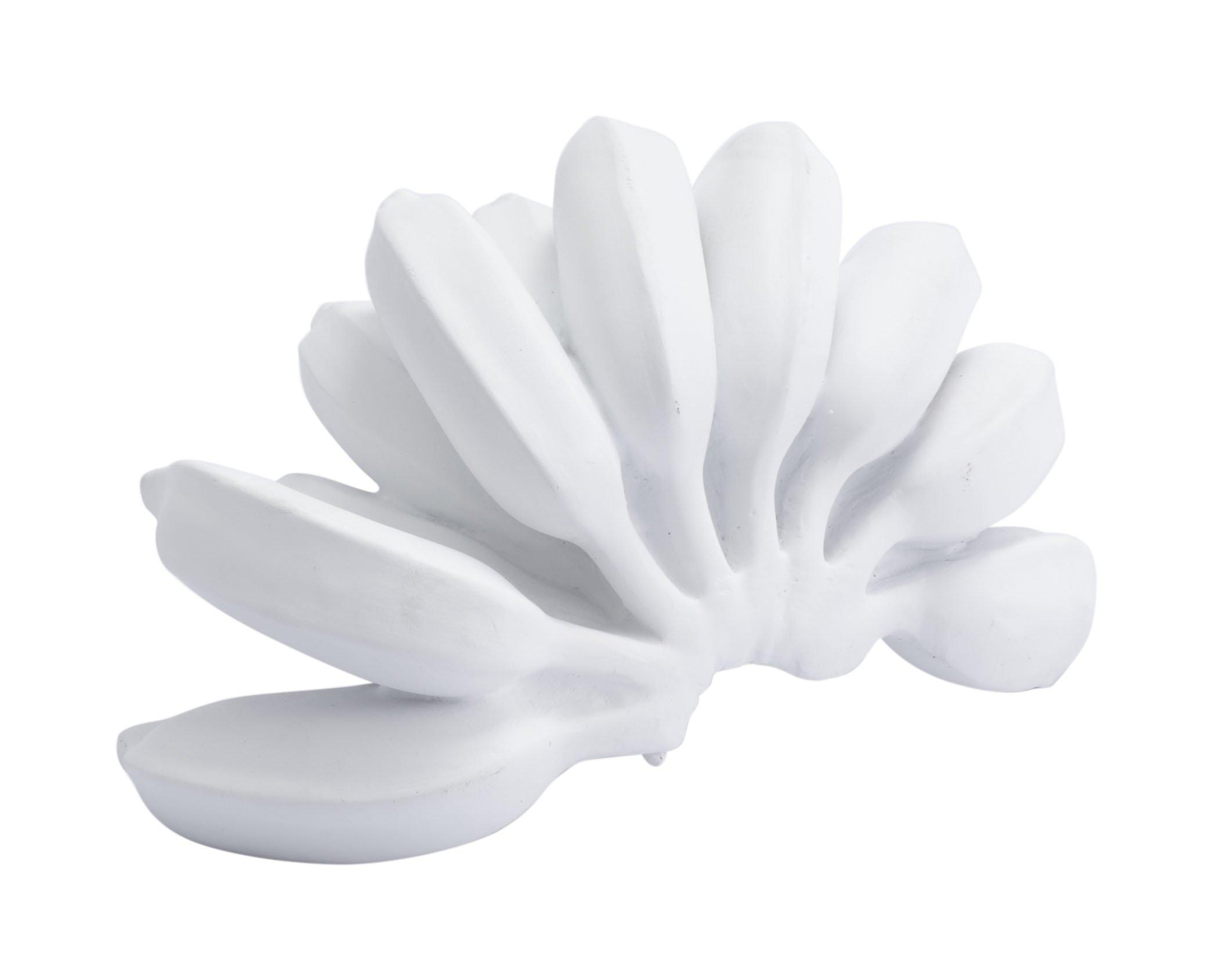 Zuo Bananas Bowl Decor Figurine, White by Zuo Modern