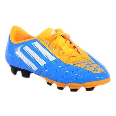 huge discount 7949d a970a Adidas - Adidas Taqueiro FG J Fußballschuhe Kinder Himmelblau Leder M17559  - Blau, 35.5