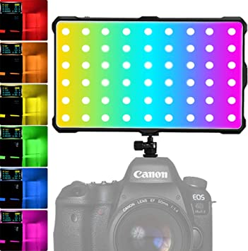 RGB Antorcha Led Video, Luz LED RGB Videocámara Luz Video de ...
