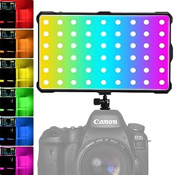 RGB Antorcha Led Video, Luz LED RGB Videocámara Luz Video de ...