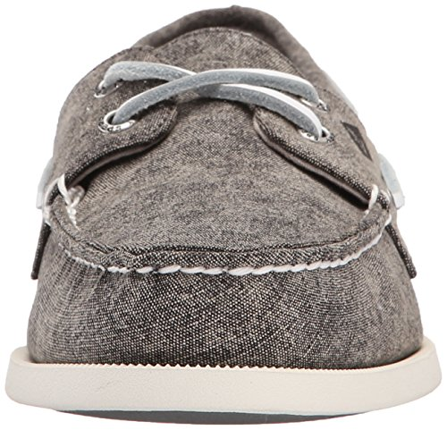 Sperry Top-sider Heren A / O 2-eye Witte Dop Canvas Bootschoen Grijs