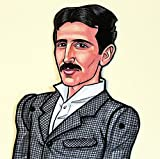 Nikola Tesla Articulated Paper Doll