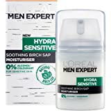 L'Oreal Men's Expert Hydra Sensitive Soothing Birch Sap Moisturiser, 50 ml