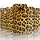 Hairyworm - (BG0045) Natural Leopard Print Sony Xperia Z2 semi flex plastic cell phone case, cover, hard plastic cell phone case, cell phone cover, cell phone back cover, cell phone protector
