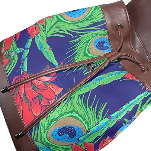 porté multicolore unique pour femme Sac au main DragonSwordlinsu Taille à dos 4SqC1