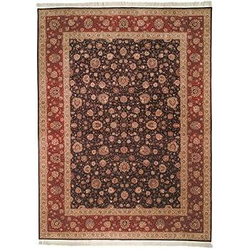 Amazon Com Safavieh Tabriz Floral Collection Tf204a Hand
