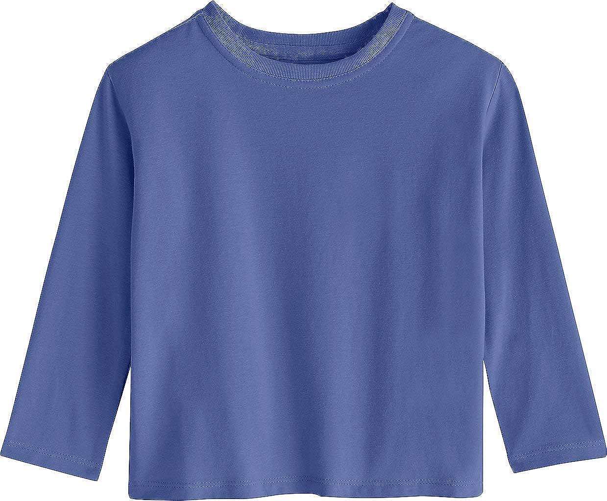 12151f4ba Amazon.com: Coolibar UPF 50+ Toddler Long Sleeve Everyday T-Shirt - Sun  Protective: Clothing