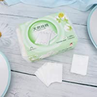 Cotton pad, cleansing cotton, disposable cosmetic cleaning pad, facial nail removal, makeup clean cotton 120pcs