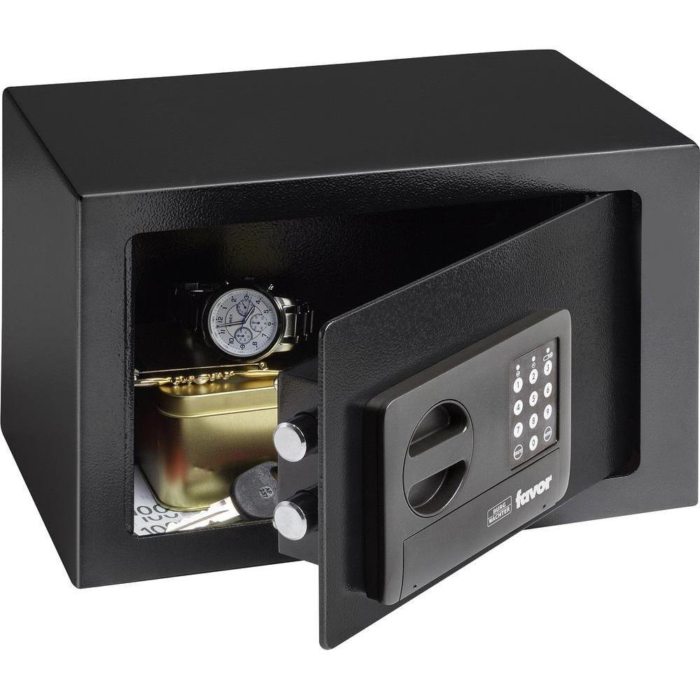Tresor Mö beltresor, elektornisch - Favor Safe S3 E - 31x20x20cm (9,5liter) Burg Wächter