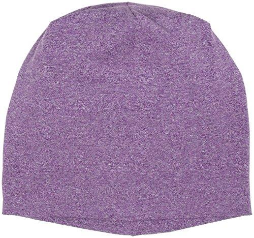 Heather Adulto de Violett Gorro Purple Jersey Punto Beanie 4231 Unisex MSTRDS UIdwq00