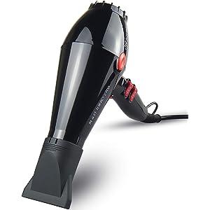 JOHN 2200w Super Fast Drying Professional Hair Dryer Nano Ceramic Ionic Stylist Salon Blower Powerful AC