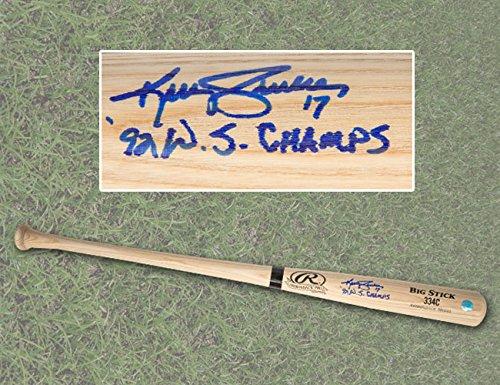 Kelly Gruber Autographed Rawlings Big Stick Baseball Bat - Toronto Blue Jays A.J. Sports World