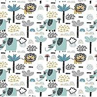 Spotty Giraffe The Sleepover Portacot Padded Fitted Sheet, White