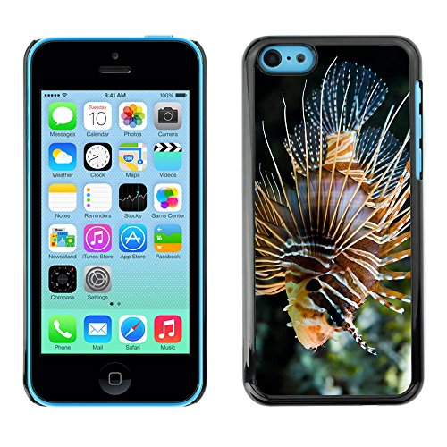 Omega Case PC Polycarbonate Cas Coque Drapeau - Apple iPhone 5C ( Majestic Coral Fish )
