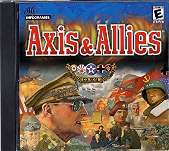 Axis & Allies : The Ultimate World War II Strategy PC CD ROM