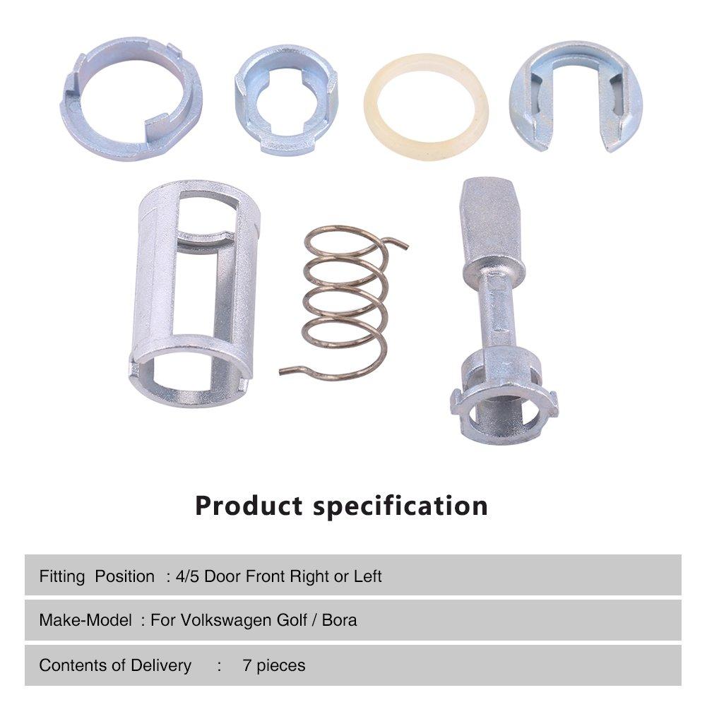 Reemplazos de kit de reparación de cilindro de cerradura de puerta: Amazon.es: Coche y moto