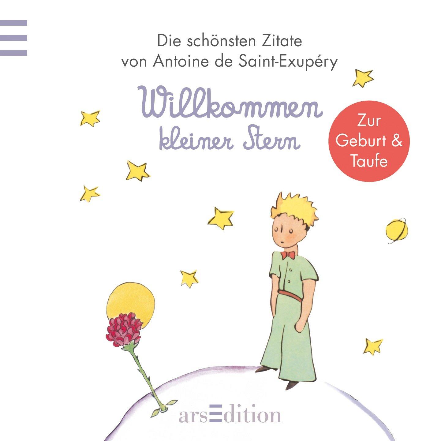 Willkommen Kleiner Stern Kleiner Prinz Minibücher Amazon De