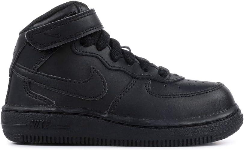Nike Force 1 Mid (TD), Chaussures Premiers Pas pour bébé garçon