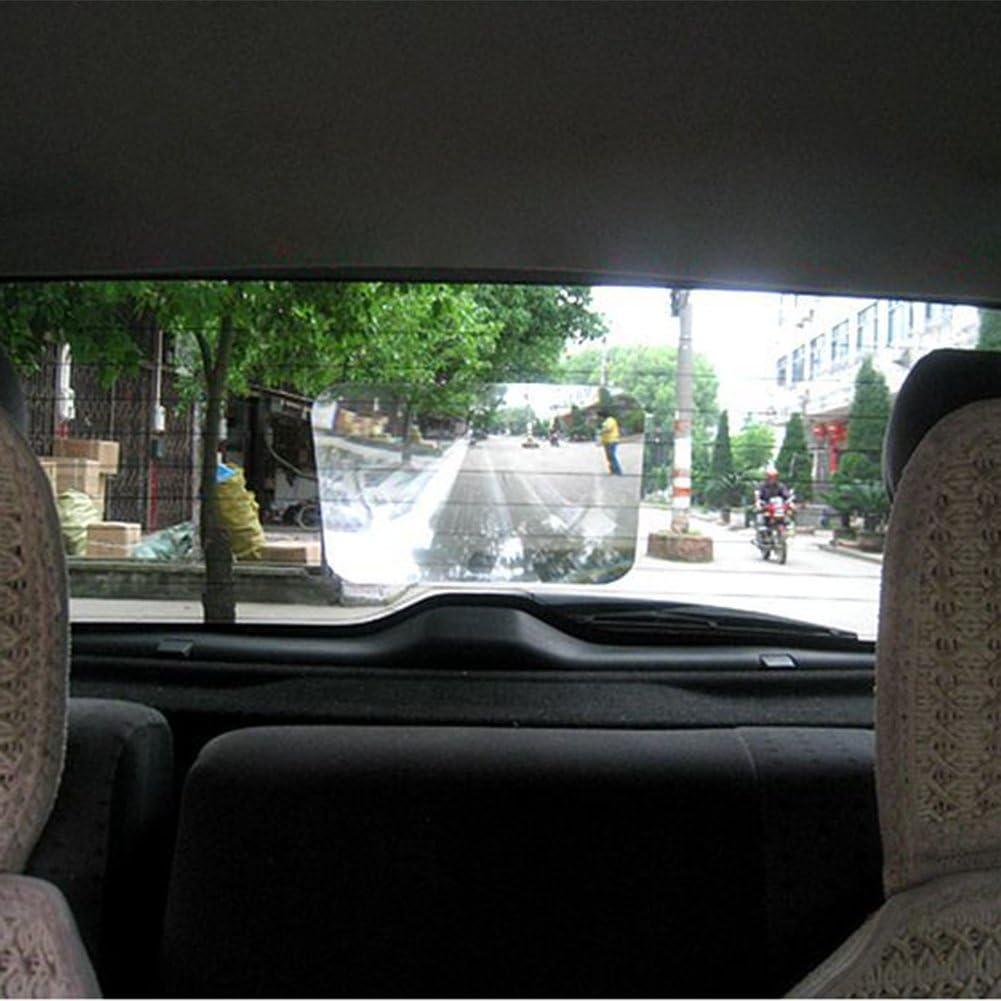 10,04 pollici Veicolo per auto retromarcia Finestra di parcheggio Adesivo per lenti Trasparente per automobili Obiettivo grandangolare per auto unive Terisass Obiettivo grandangolare automatico 7,87
