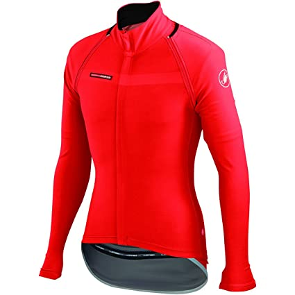 Amazon.com   Castelli Gabba 2 Convertible Jacket Red Size S   Sports ... 97cecd7fa