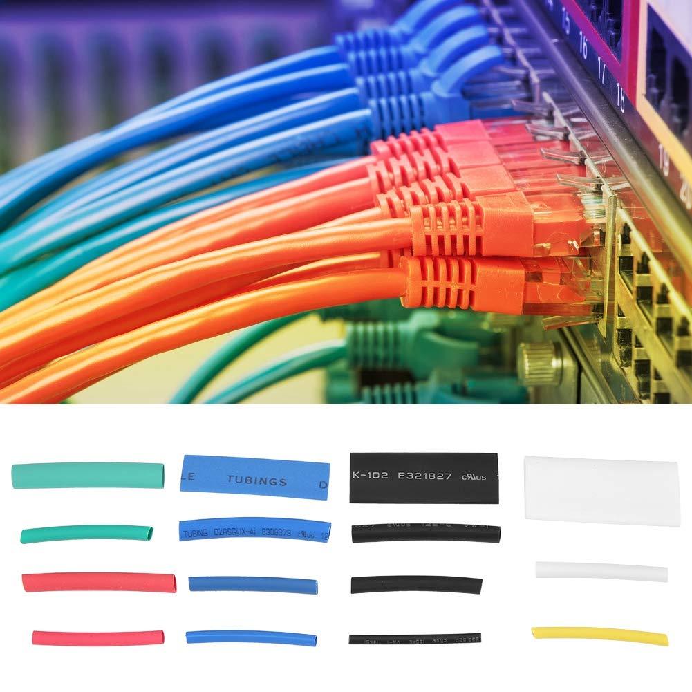 aislamiento Tuber/ía termorretr/áctil para cables el/éctricos Tubo termorretr/áctil para autom/óviles 12 Tama/ño Tuber/ía termorretr/áctil de 670 piezas Clase de eficiencia energ/ética A +