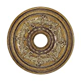 Livex Lighting 8200-57 Ceiling Medallion, Venetian Patina