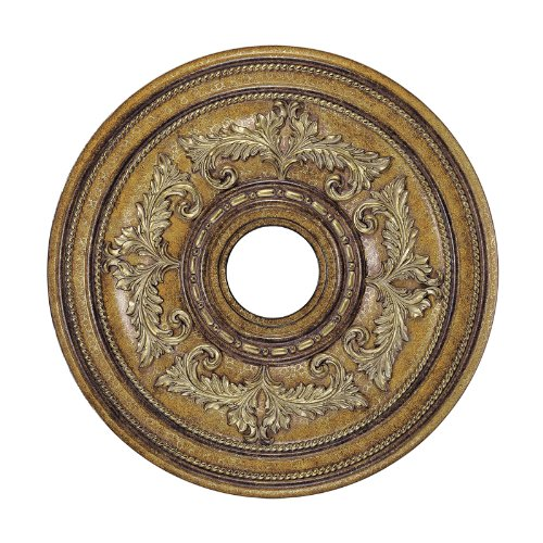 Livex 22.5 in. Venetian Patina Ceiling Medallion