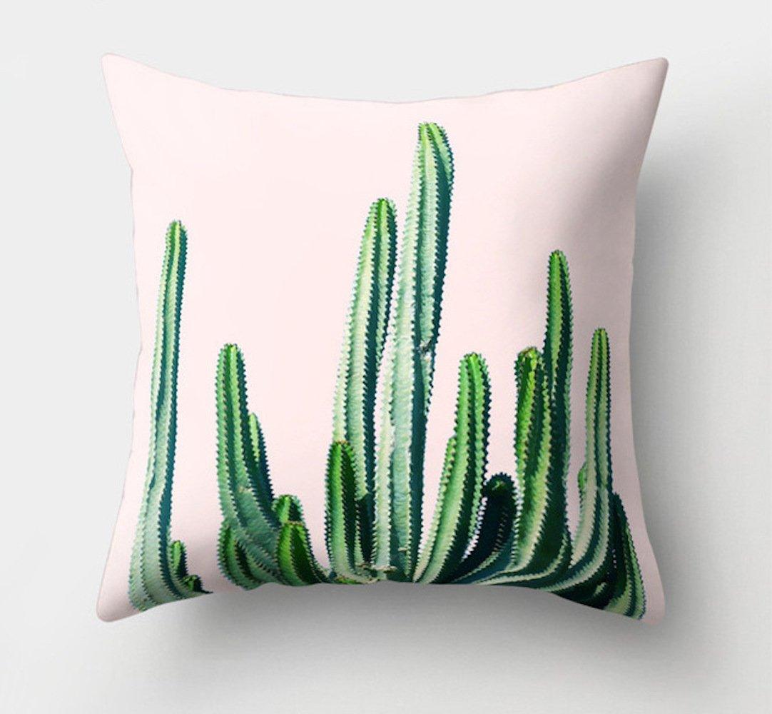 réf2o03 Deco.27 - Funda de cojín Cactus - Decoración Boho ...