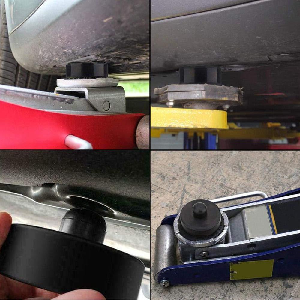 DokFin 4PCS Cric Tampon Jack Pad pour Tesla Model 3 Accessoires Crics De Levage