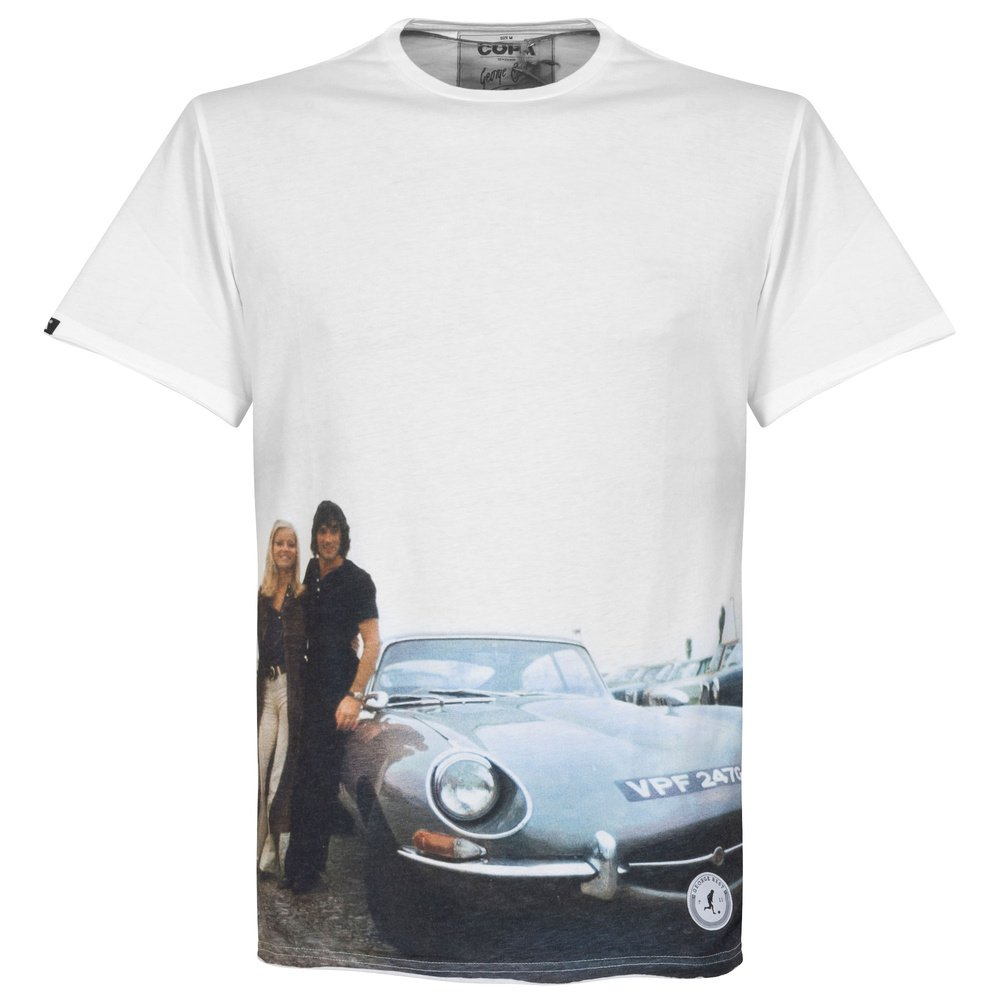 Copa E-Type All Over Print T-Shirt - weiß