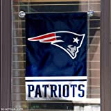WinCraft New England Patriots Double Sided Garden