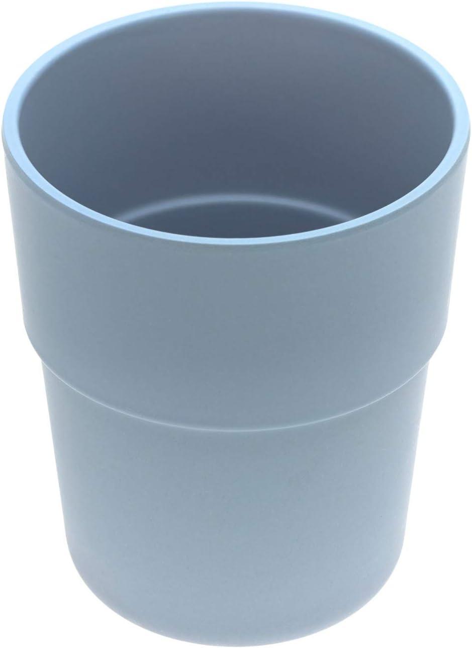L/ässig Juego de tazas de bamb/ú Mint//Blueberry