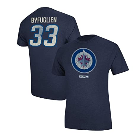 brand new fc2c6 03361 Amazon.com: CCM Dustin Byfuglien Winnipeg Jets Team Logo ...