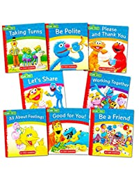 Sesame Street Elmo Manners Books For Kids Toddlers -- Set of 8 Manners Books BOBEBE Online Baby Store From New York to Miami and Los Angeles