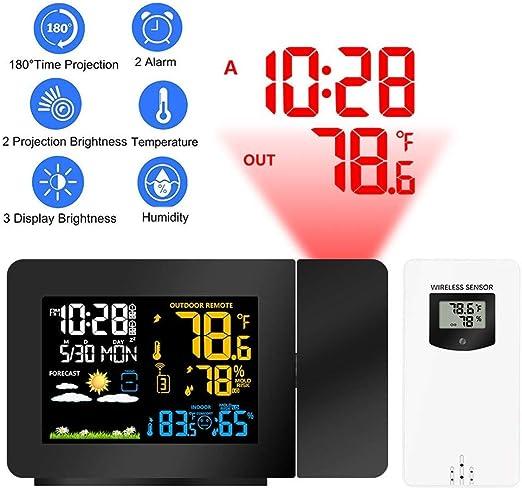 Despertador Proyector Techo Reloj Despertador Proyector ...