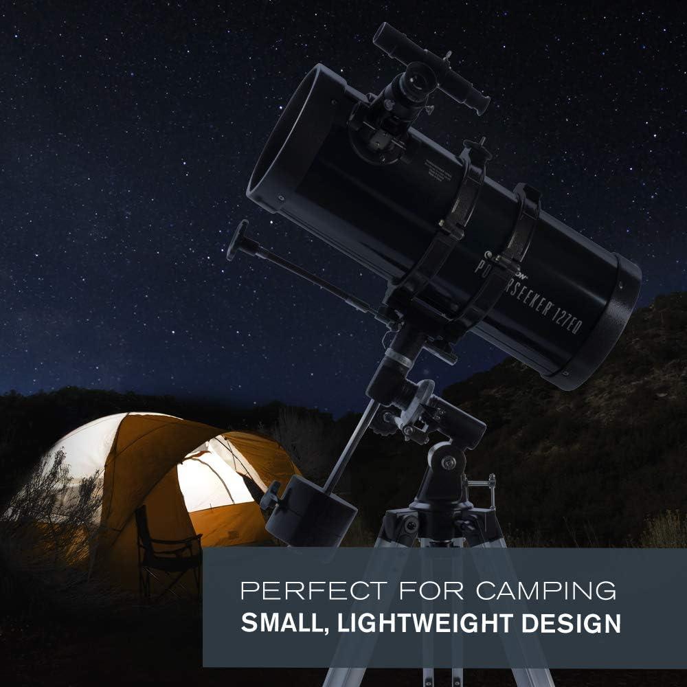 Celestron PowerSeeker 127EQ 127mm f/9 Reflector Telescope, 22128